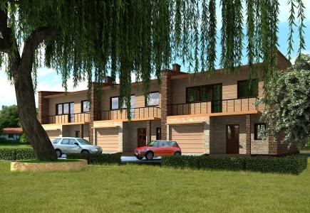 Progetto di una casa a schiera di due piani kristina - Progetto di una casa a due piani ...
